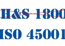 Tiêu chuẩn Quốc tế mới ISO 45001:2018 (thay thế tiêu chuẩn OHSAS 18001:2007)