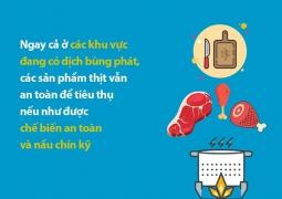 Thực hành các nguyên tắc bảo đảm an toàn thực phẩm phòng dịch Covid - 19